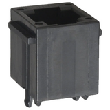 Pack of 5  90512-001LF  FCI  Connector Modular Jack 6 Positions 6 Contacts Vertical :Tube