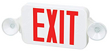 FULHAM FIREHORSE EXIT LIGHTING FHEC30WR FULHAM FIREHORSE EXIT LIGHTING LED MPN: FHEC30WR, SKU: G9353102  Product Details Exit Sign with Emergency Lights, Letter Color Red, Number of Faces 1 or 2, Directional Indicators - Emergency Lighting and Exit Signs Universal Field Selectable Chevrons, Lighting Technology LED, Housing Material - Emergency Lighting and Exit Signs Plastic, Housing Color - Emergency Lighting and Exit Signs White, Emergency Back Up Battery Yes, Battery Chemistry Nickel Cadmium, Voltage - Emergency Lighting and Exit Signs 120/277, Number of Lamp Heads 2