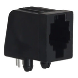 Pack of 5  5555980-1  AMP  Jack Modular Connector 4p4c R/A Unshielded