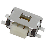 Pack of 5  TL1014BF160QG  E-Switch  Tactile Switch SPST-NO Surface Mount 0.05A 12V Right Angle :RoHS, Cut Tape