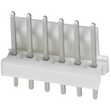 Pack of 7  640454-6  TE Connectivity AMP  Connector Header 6 position 2.54mm Through Hole :RoHS
