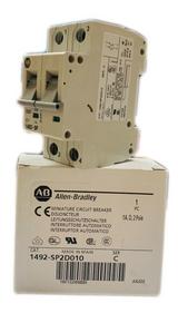 1492-SP2D010 Allen-Bradley Minature Circuit Breaker, 1A,D,2 Pole