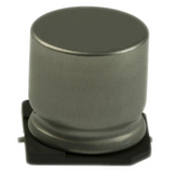 Pack of 10  EEE-HA0J470WR  Panasonic  Aluminum Electrolytic Capacitors 47UF 20% 6.3V SMD :RoHS, Cut Tape