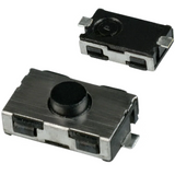 Pack of 10  KSR251J  C&K  Switch Tactile SPST-NO 0.05A 32V 1VA Round Button J-Bend Top Actuated SMD :RoHS, Cut Tape