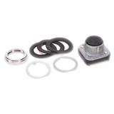 800T-A2 Allen-Bradley Push Button, Flush Head, Black, 30mm, Momentary, No Contacts