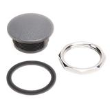 800T-N1 Allen-Bradley Closing Button, 30mm, Gray, Plastic