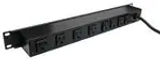 J08B2B  Wiremold  Power Outlet Strips 8 Out 15ft Cord On/Off Ckt Brkr