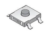 Pack of 10  101-TS6824T1601-EV   Mountain Switch  Tactile Switches 6x6 160gf Brown SMD/SMT