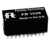 FB1029 filter in a 20 pin wide DIP package by Faraday Technologies.