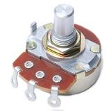 31VJ501-F3 100k Ohm Gang Logarithmic Panel Mount Potentiometer - Solder Lug
