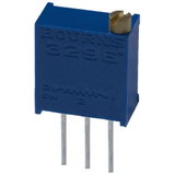Pack of 4  3296W-1-103LF   0.5W, 1/2W PC Pins Through Hole Trimmer Potentiometer Cermet Turn Top Adjustment