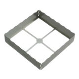 """BMI-S-207-F   RF Shield Frame 1.747"""" (44.37mm) X 1.747"""" (44.37mm) - Solder, RoHS, Cut Tape"""