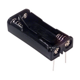 Pack of 2  2468  Battery Holder  AAA 2 Cell PC Pin :RoHS