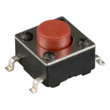PTS645SK50SMTR92 LFS  Tactile Switches  SPST-NO Top 0.05A 12V Actuated Surface Mount :Rohs, Cut Tape