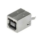 KUSBVX-BS1N-B  Connector Receptacle  U S B 2.0 Dual 4 Position Through Hole