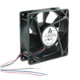 AFB1224VHE-R00   DC Fans DC Tubeaxial Fan, 120x38mm, 24VDC, Ball Bearing, 3 Wire Leads, Locked Rotor Sensor, RoHS
