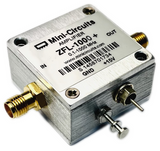ZFL-1000+ Mini Circuits AMPLIFIER 0.1-1000 MHz GND +15V
