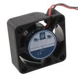 OD2510-12HB  Fan Tubeaxial 12VDC Square - 25mm L x 25mm H Ball 2.7 CFM (0.076m³/min) 2 Wire Leads