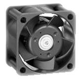 414H   DC Fan Axial Sintec-Sleeve Bearing 24V 20V to 26.5V 7.9CFM 29dB 40 X 40 X 20mm High Speed