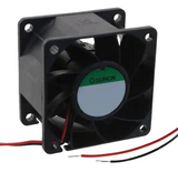 PMD2406PMB1-A.(2).GN   Fan Tubeaxial 24VDC Square - 60mm L x 60mm H Ball 56.5 CFM (1.58m³/min) 2 Wire Leads