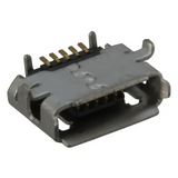 Pack of 4  0475890001  Connector Receptacle micro AB 5 Position Right Angle Surface Mount :Rohs, Cut Tape
