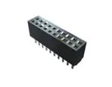 Pack of 2   SFMC-103-L3-S-D-TR  Connector Receptacle 6 Position 1.27mm Through Hole