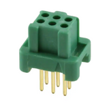 G125-FV10605L0P  Connector Receptacle 6 Position 1.25mm Through Hole Gold :RoHS
