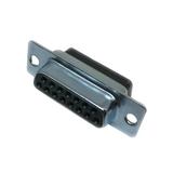DAUH-15S-FO    D-Sub Standard Connectors 15C SCKT NO CONTACTS D*U SERIES