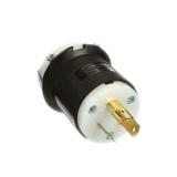 HBL2311   Twist-Locking Plug, 20 A/125 VAC, 8-16 AWG, Screw Terminal, Insulgrip Series