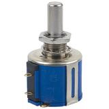 3540S-1-203  Ohm 20k  1 Gang Linear Panel Mount Potentiometer None 10.0 Kierros Wirewound 2W Solder Lug