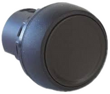 800FP-F2   Round Black Push Button Head Momentary 800F Series