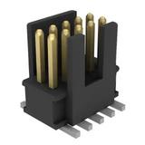 Pack of 3  FTSH-105-01-L-DV-K  Connector Header 10 position 1.27mm Surface Mount :RoHS, Tube
