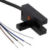 "PM-T44P  Optical Sensor Through-Beam 0.197"" (5mm) PNP - Dark-ON/Light-ON - Selectable Module, Wire Leads, Slot Type"