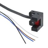 "PM-L25  Optical Sensor Through-Beam 0.236"" (6mm) Module, Wire Leads, Slot Type"