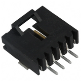 5-147278-3  Connector Header  Right Angle 4 position 2.54mm Surface Mount :RoHS