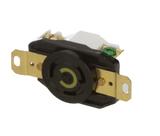 HBL2610  Twist-Locking Socket Receptacle, 30 A/125 VAC, Screw Terminal, Insulgrip Series