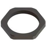 Pack of 10 NM-20-BK  Nut Lock M20 X 1.5-THD 27mm-A/F 6mm-THK Nylon