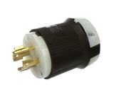 HBL2411  Twist-Locking Plug, 20 A/250 VAC, 8-16 AWG, Screw Terminal, Insulgrip Series