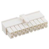 "0039012205   Rectangular 20 Connectors - Housings Receptacle Natural 0.165"" (4.20mm)"
