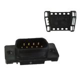 1658615-4  Position 9 D-Sub Plug, Male Pins Connector