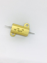 CMC25-0.3 - HONEYWELL SENSING AND CONTROL - RES WIREWOUND 0.3 Ohm 1% 25W ±90ppm/°C ALUMINUM HOUSED AXL FLANGE MOUNG