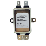 FN332-10A-05  Schaffner   Power Line Filter 0Hz to 400Hz 10A 250VAC Quick Connect Flange Mount