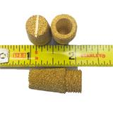 1 Unit Pneumatic Muffler Silencer Micron Powder Sintered Porous Brass Filter
