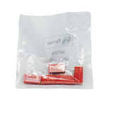 Pack of 5  973582101  Hirschmann Electronics   Test Socket PCB, 4MM, RED