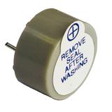 "5V Piezo Buzzer Gray/Grey Colored 0.866"" Dia (22.00mm) 0.492"" (12.50mm) Continous Sound Beep Continuously Alarm ABT-402-RC"