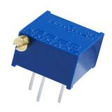 3299P-1-503LF Bourns Inc 3299P-1-503 Resistor Cermet Trimmer 50K Ohm 10% 1/2W 25(Elec)Turn 2.29mm (9.53 X 11.55 X 6.1mm) Pin Thru-Hole