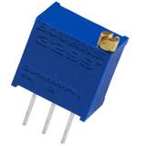 3299W-1-105LF Bourns Inc 3299W-1-105 Resistor Cermet Trimmer 1M Ohm 10% 0.5W(1/2W) 25(Elec)Turn 2.29mm (9.53 X 6.1 X 11.55mm) Pin Thru-Hole