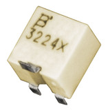 3224X-1-500E Bourns Inc Resisitor Cermet Trimmer 50 Ohm 10% 0.25W(1/4W) 12(Elec)Turns 1.5mm (4.8 X 5.7 X 5.3mm) Gull Wing SMD