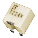 3224X-1-102E Bourns Inc Resistor Cermet Trimmer 1K Ohm 10% 0.25W(1/4W) 12(Elec)Turns 1.5mm (4.8 X 5.7 X 5.3mm) Gull Wing SMD