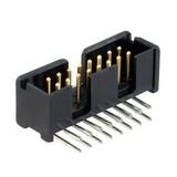 103310-3 TE Connectivity Conn Shrouded Header HDR 16 POS 2.54mm Solder RA Thru-Hole Automotive